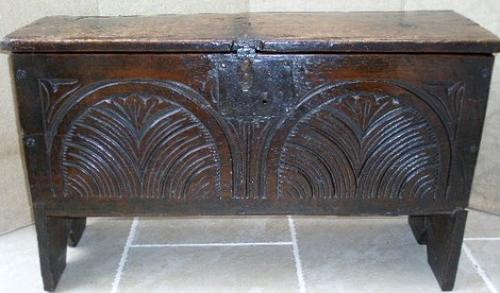 Charles II Restoration Period small coffer