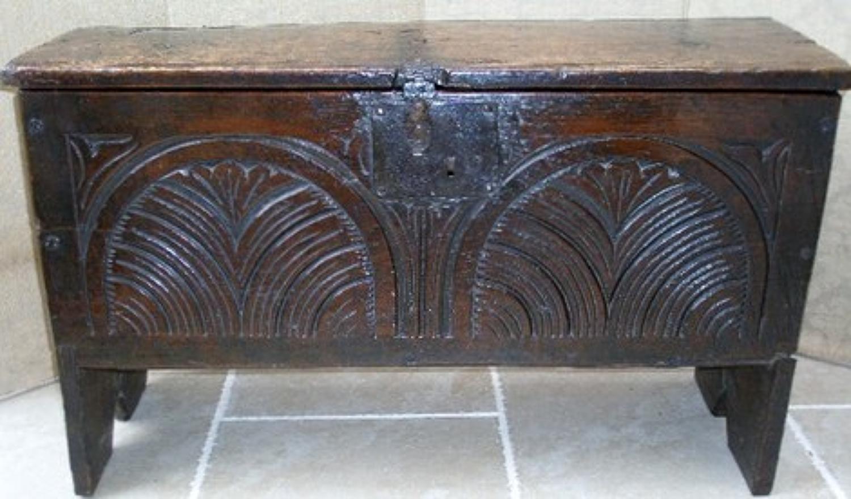 Charles II Restoration Period small coffer