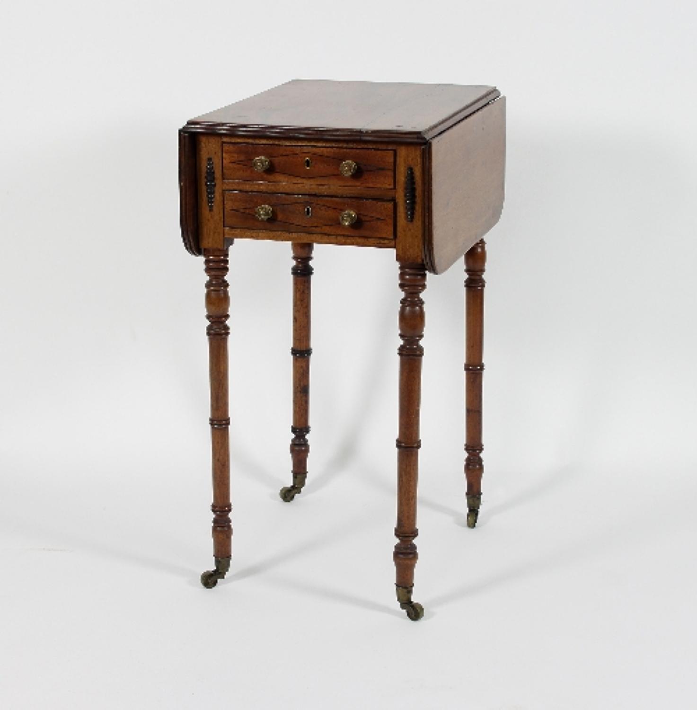 Regency period Pembroke work table