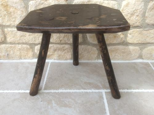Welsh 19th Century country stool