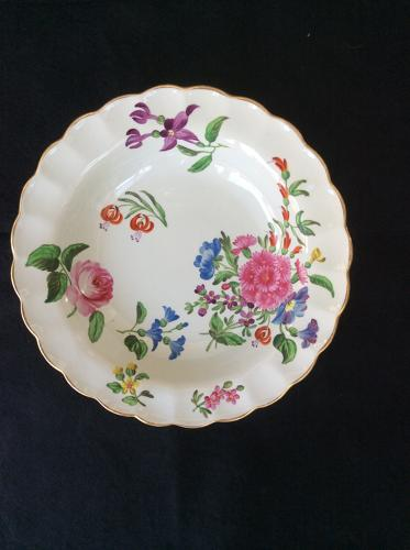 18th century had decorated Spode dish