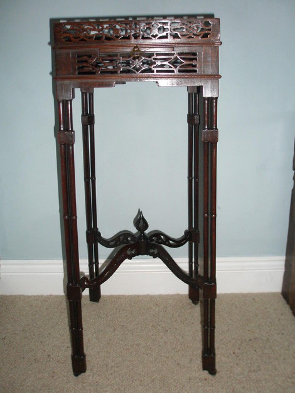 19th century mahogany urn stand