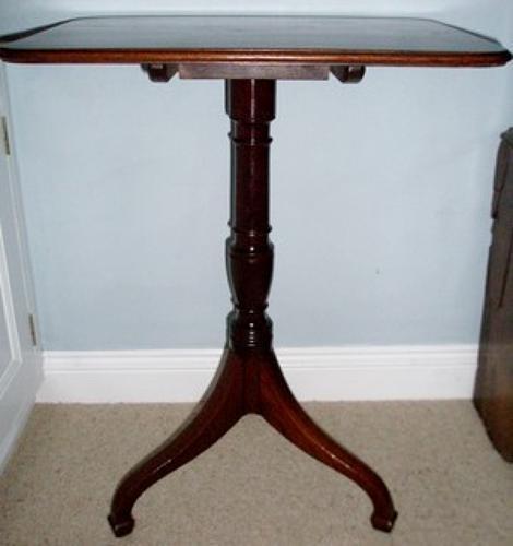 Regency period wine table