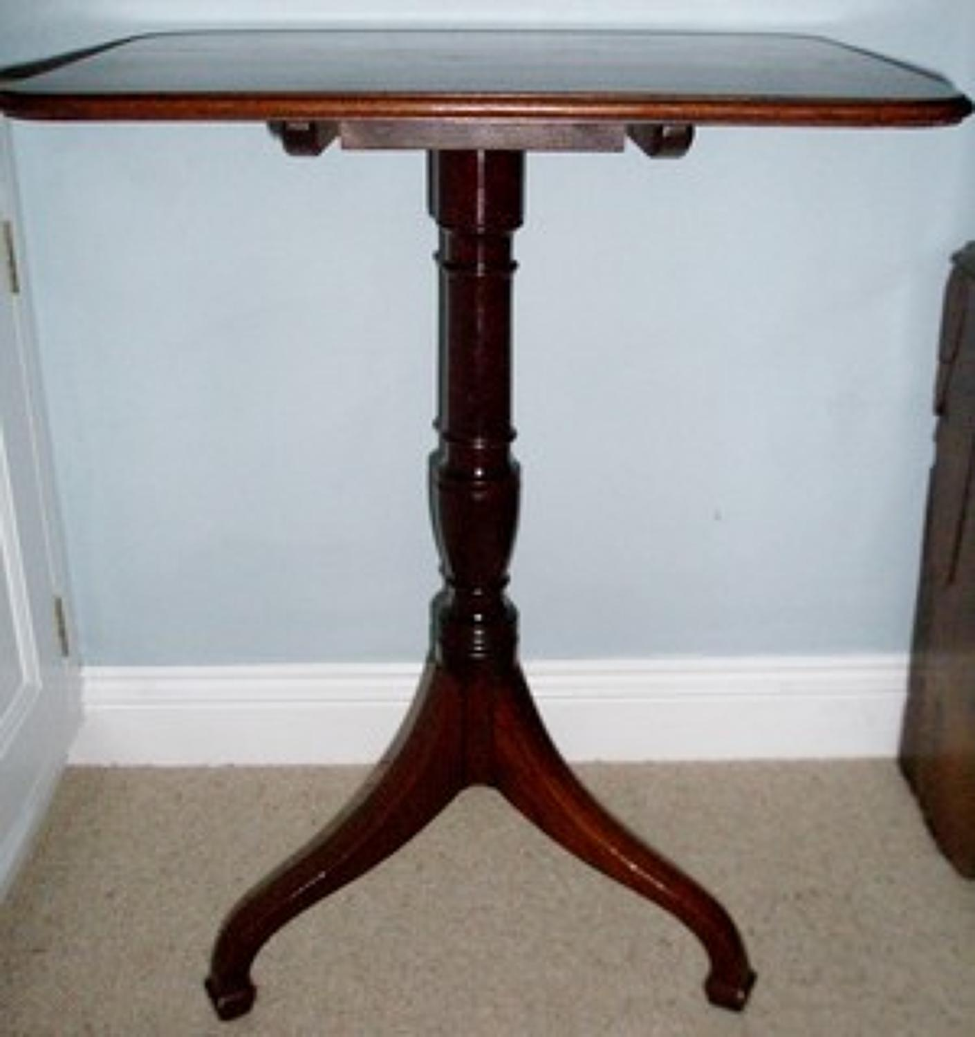 Regency period wine table