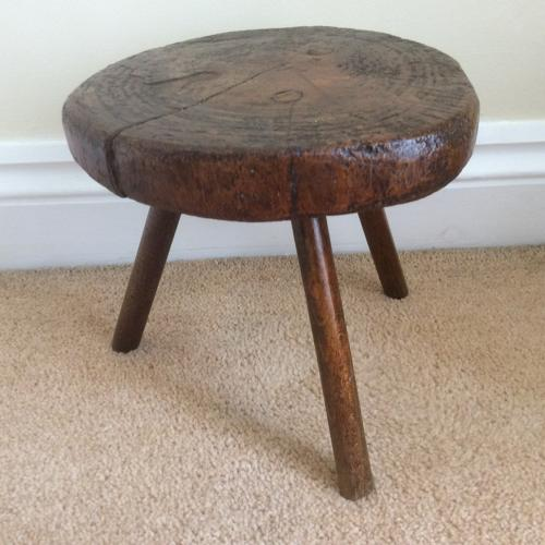 19th small country stool