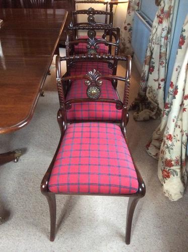 Regency period  side chairs