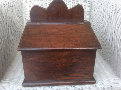 19th Century pine Welsh salt box