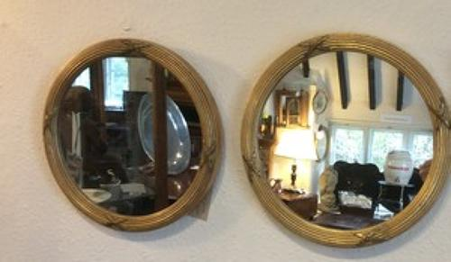 Pair of Regency frame gilt mirrors