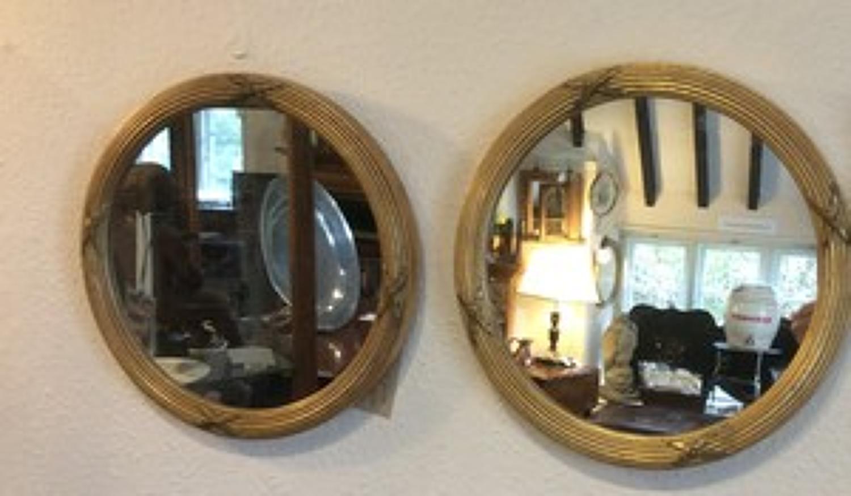 Pair of Regency frame gilt mirrors