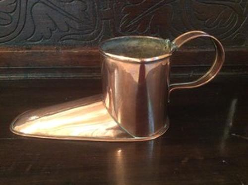 19th century copper ale muller