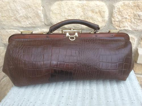 Vintage Gladstone Bag 1930s