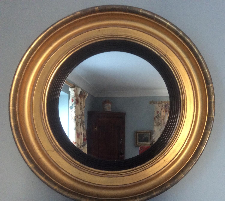Georgian frame giltwood mirror