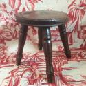 Late 19th century/early 20th milking stool - picture 1