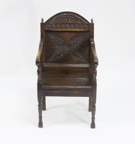 English oak wainscot chair
