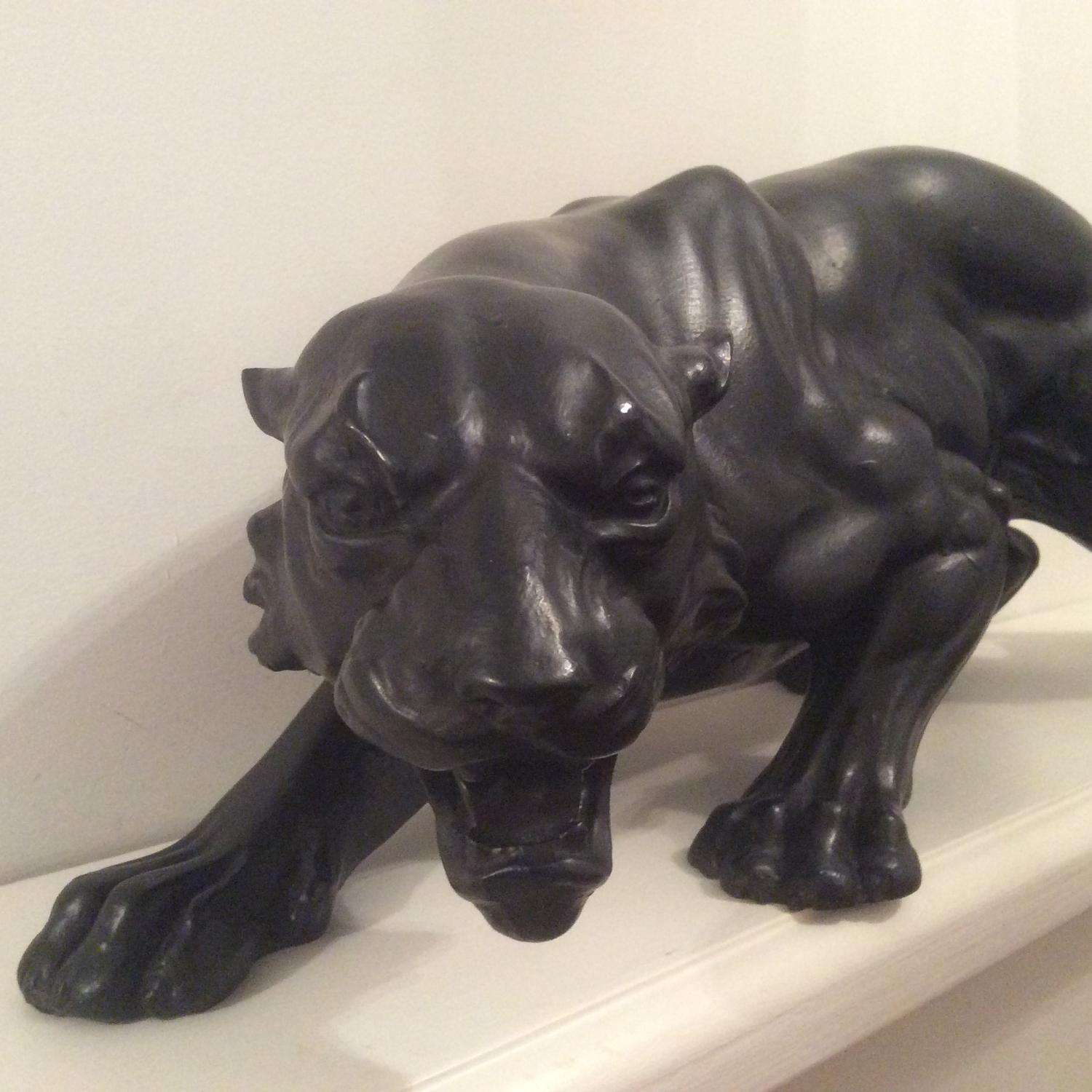 Decorative figure of a Panther