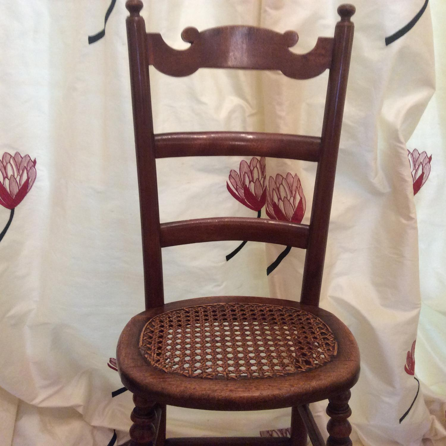 Child s Regency Period beechwood Deportment chair in Furniture