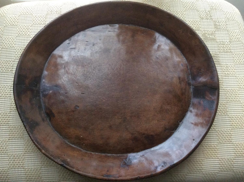 Treen platter/dish