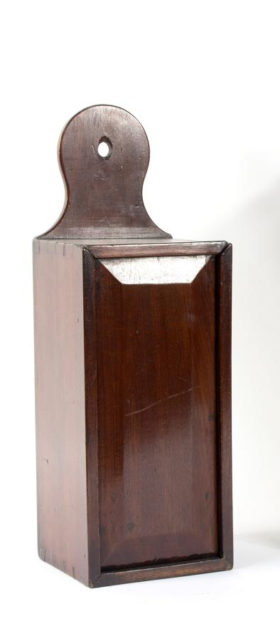 Georgian Period padouk candle box