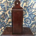18th century oak candle box - picture 2