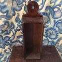 18th century oak candle box - picture 7