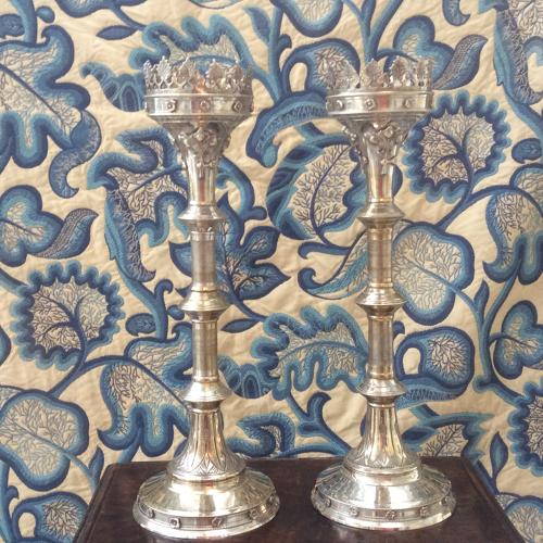 Decorative  Pricket Candlesticks
