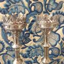 Decorative  Pricket Candlesticks - picture 4
