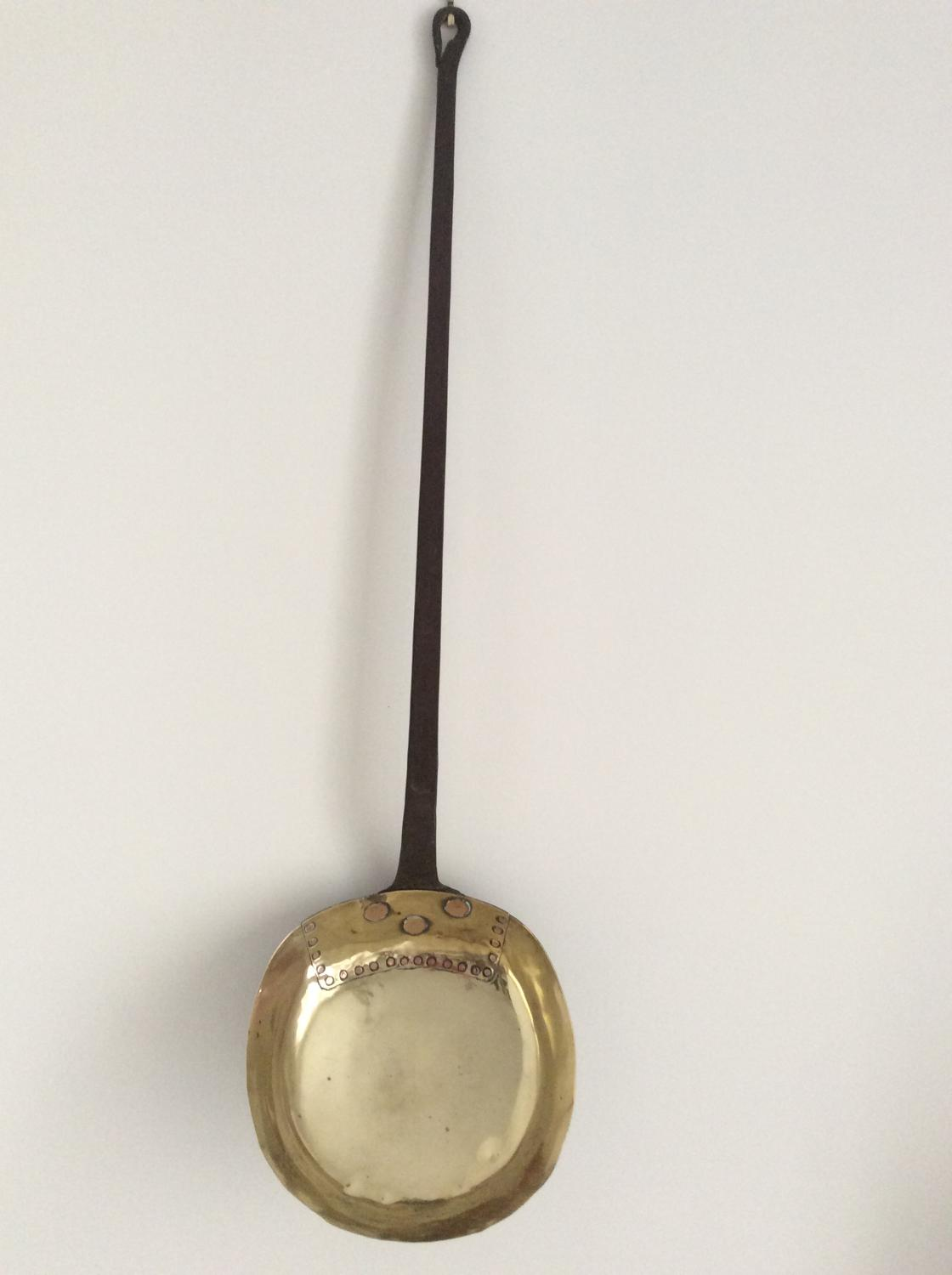 Late 18th/early 19th century brass pan