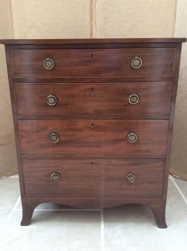 Late Georgian Mahogany chest
