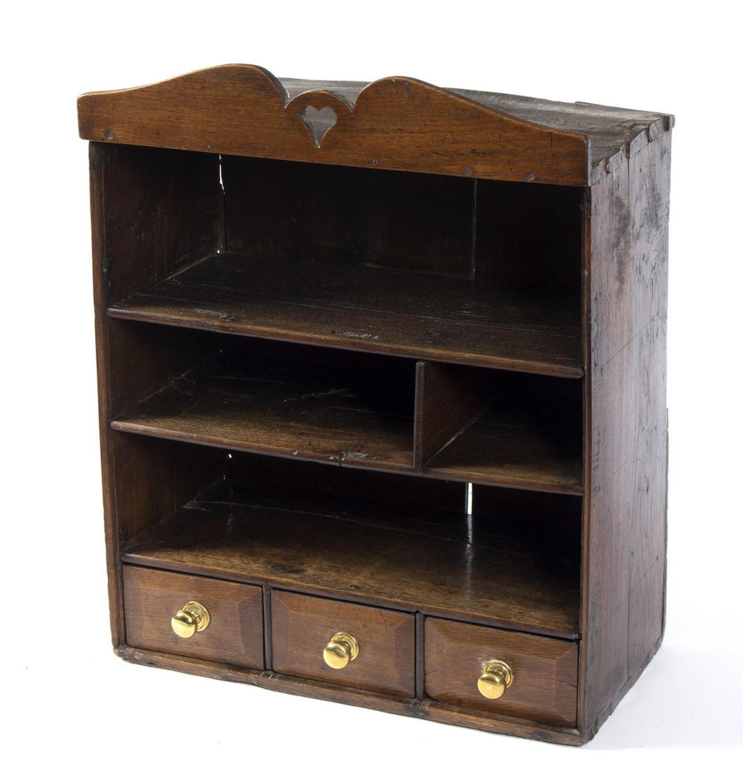 Welsh 19th Century Oak Shelves