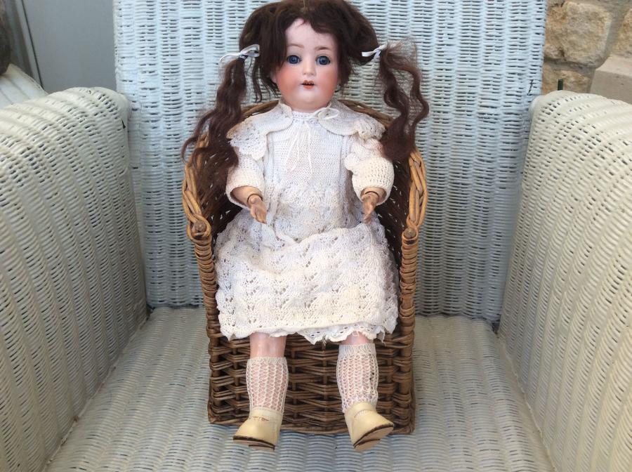 Heubach Koppelsdorf Bisque Headed Doll