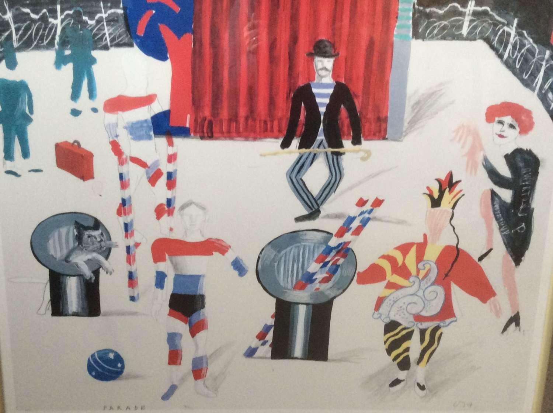 David Hockney exhibition poster, Tokyo 1983