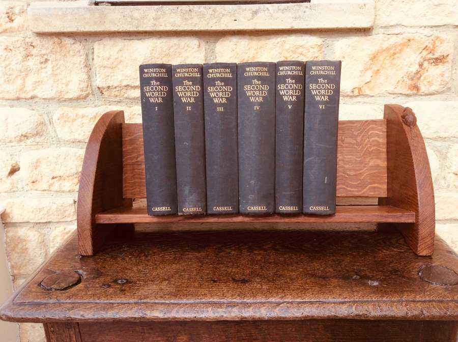 Beaverman Oak Book Trough