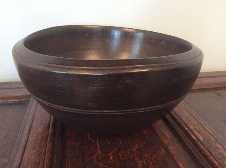 19th Century large dairy bowl