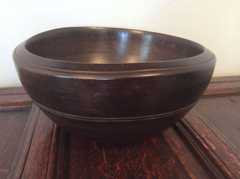 19th Century large dairy bowl