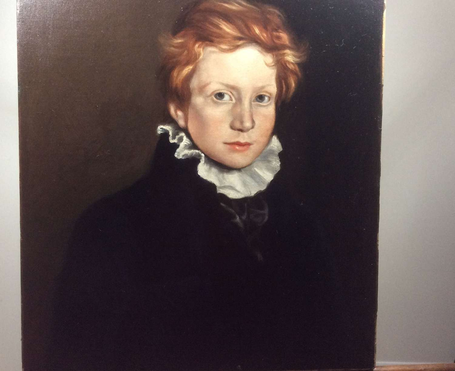Early 19th Century portrait of a chorister