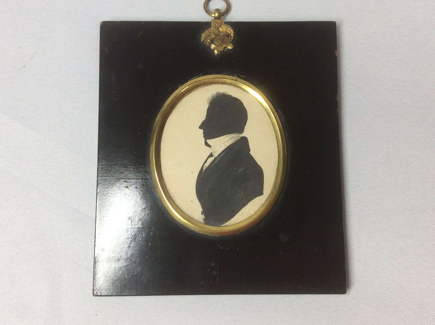 19th Century Silhouette of a Georgian Gentleman