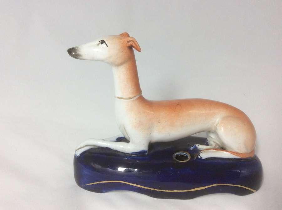 19th Century Staffordshire Greyhound figure