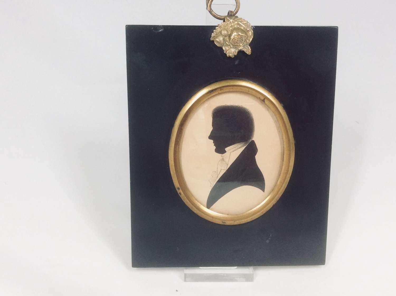 `Regency period silhouette of C Priestley of Halifax