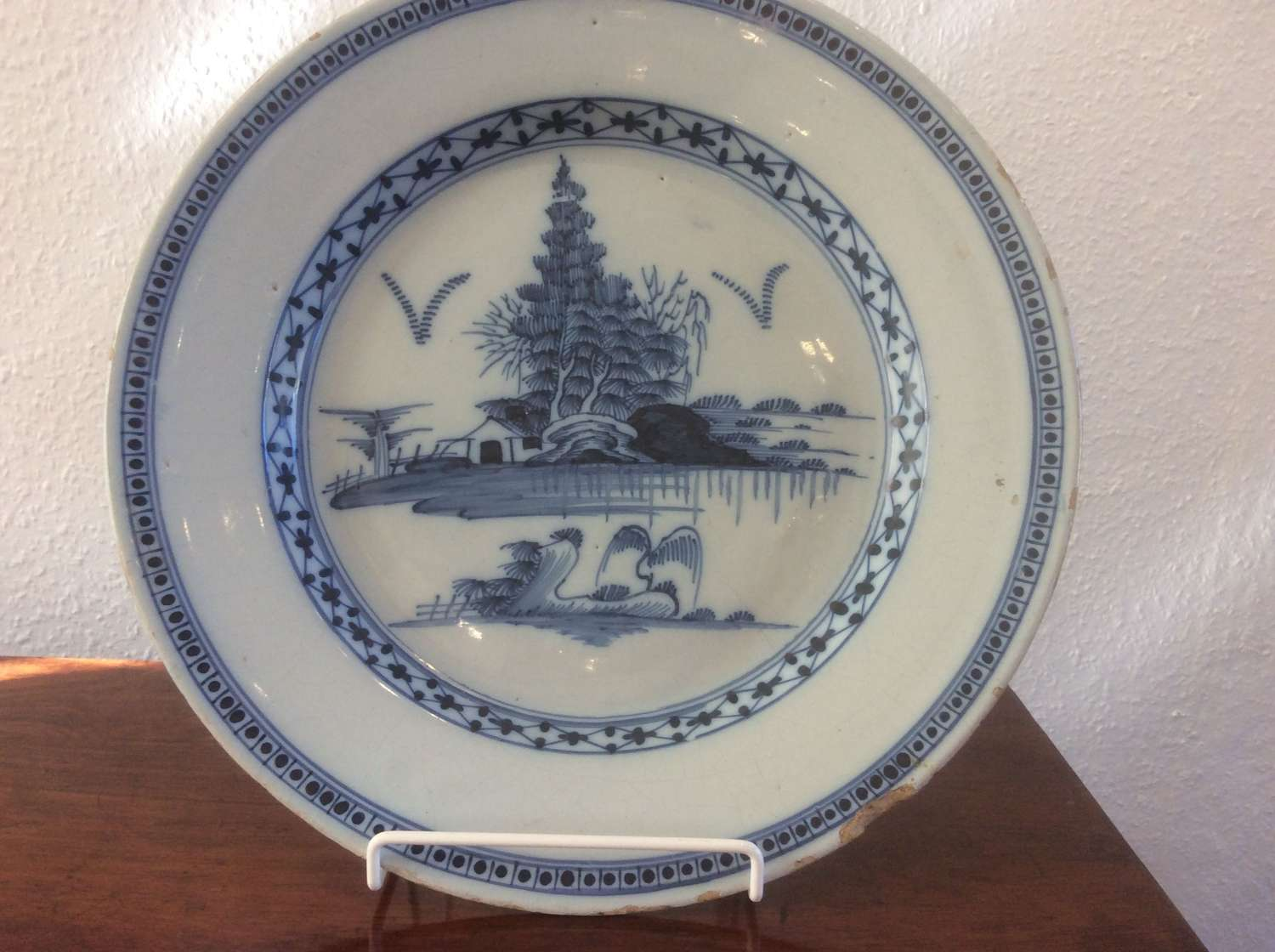 18th Century English Delft Charger